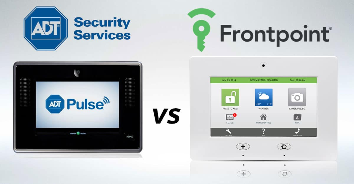 Adt Security Cameras >> Frontpoint Security vs. ADT - Home Security List