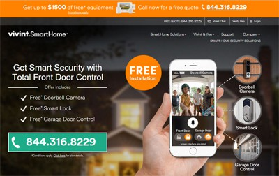 Vivint Security Review Home Security List