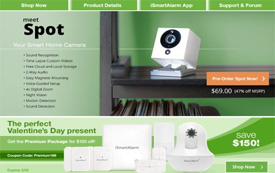 ismart alarm self monitoring system review home security list. Black Bedroom Furniture Sets. Home Design Ideas