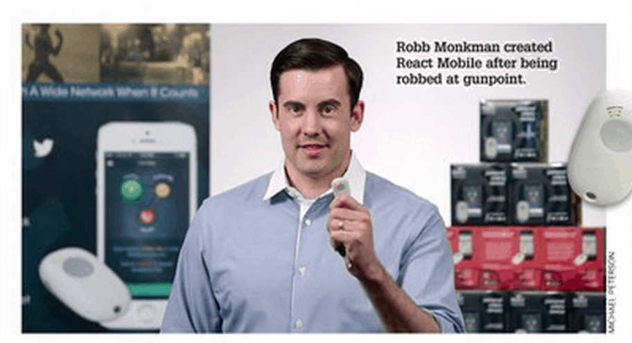 Home Security List: Robb Monkman - React Mobile