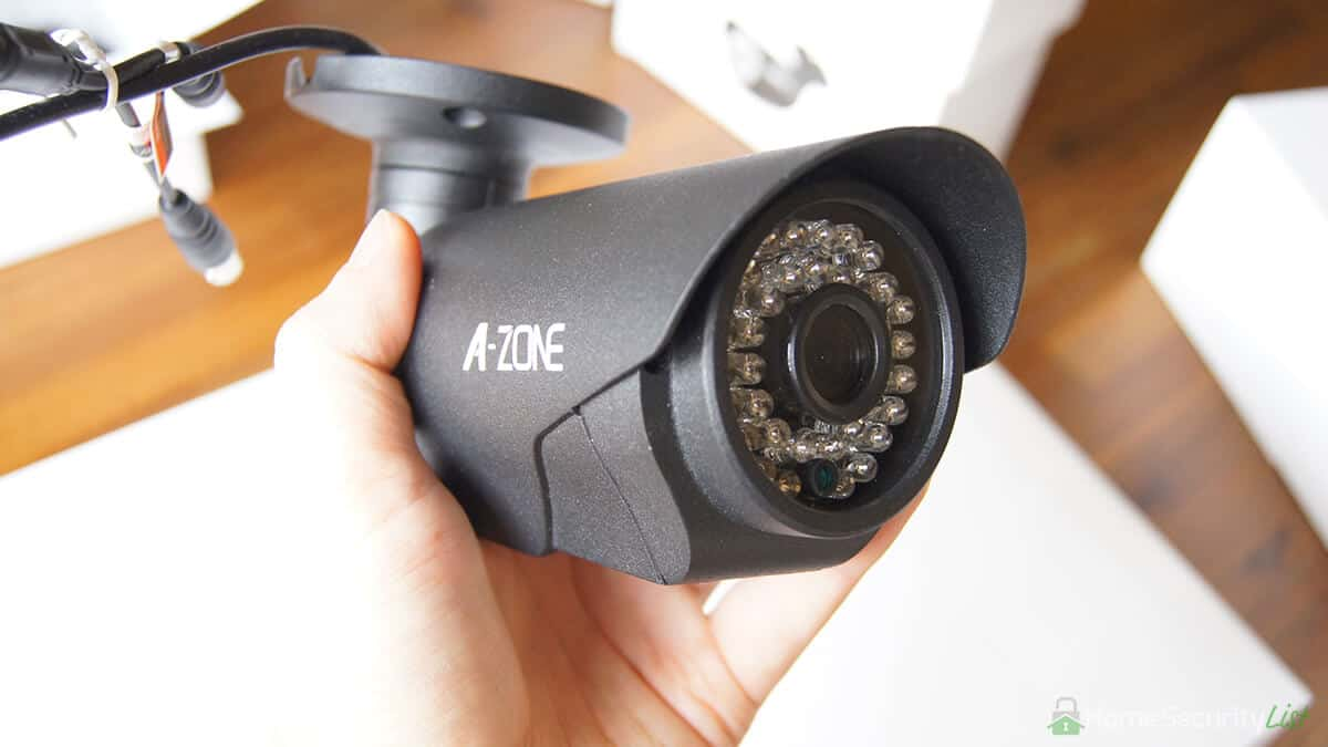 A-ZONE 4ch AHD 1080P DVR Security Camera System In-Depth Review