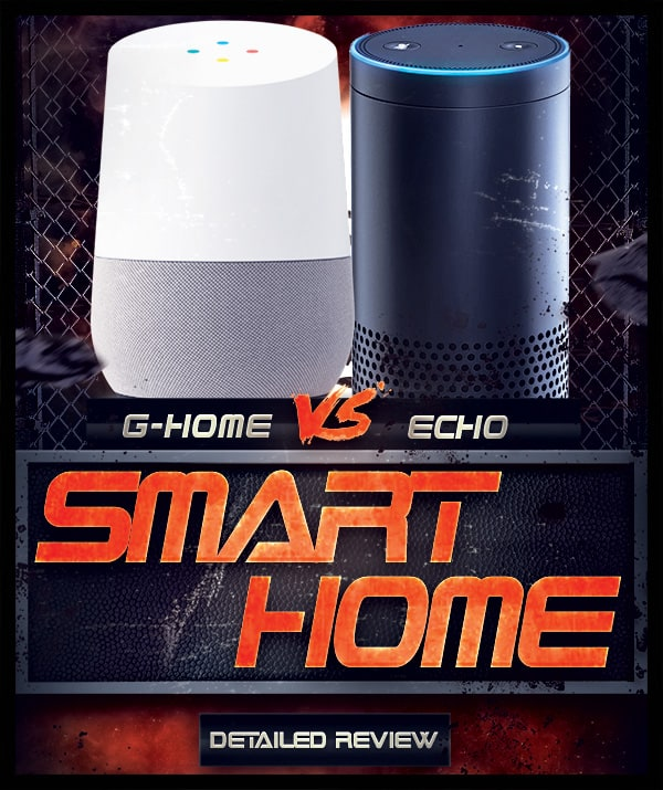 Google Home vs Amazon Echo