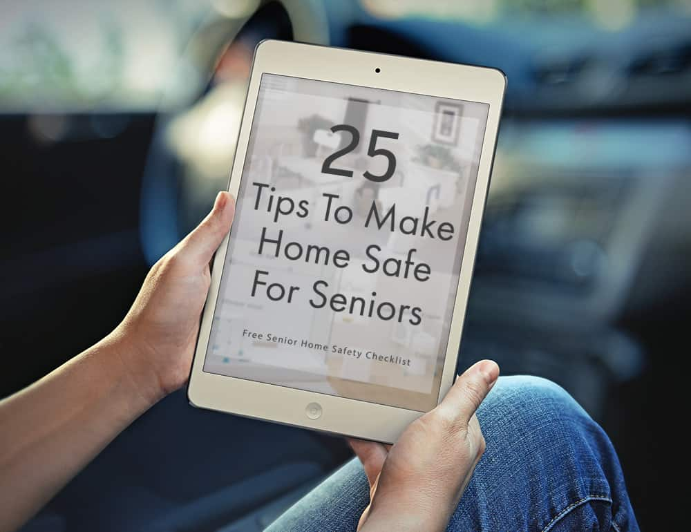 25 Senior Home Safety Tips eBook