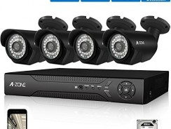 A-ZONE 4ch AHD 1080P DVR Security Camera System Review