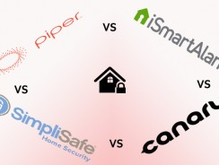 What's The Best DIY Home Security Kit (Piper vs iSmartAlarm vs Simplisafe vs Canary)